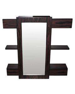 Active Active Factory AFMAHSLIDE01 Mahogany Sliding Bathroom Cabinet 700 x 700 x 150mm