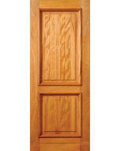 2 PANEL HARDWOOD DOOR 813X2032 DOOR