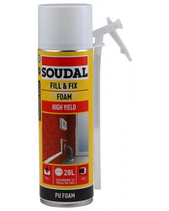 SOUDAL 123572 FILL & FIX FOAM 500ML