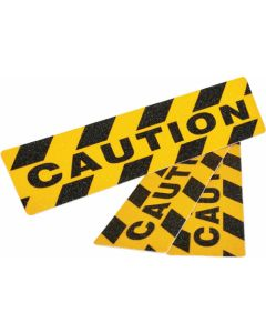 ANTI SLIP TAPE CAUTION BLACK/YELLOW COMMERCIAL HIGH GRIT 3PIECE