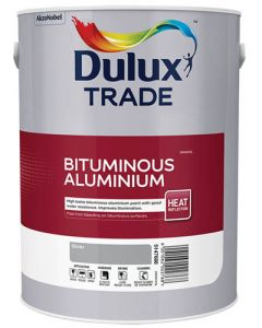 DULUX TRADE BITUMINOUS ALUMINIUM PAINT 5L