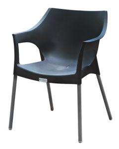 Black Chelsea Chair CH-CHST-BK-OD-B