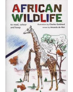 AFRICAN WILDLIFE TO READ, COLOUR AND KEEP BOOK