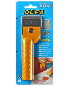 OLFA OLFSCRBTC1 SCRAPER & CUTTER 43MM JAPANESE LEATHER KNIFE