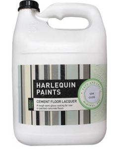 HARLEQUINS VARNISH CEMENT LOW GLOSS 5L