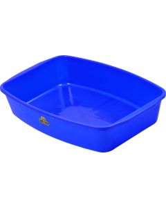 BIG JIM DP0010-PB ROYAL BLUE CAT LITTER TRAY