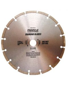 PINNACLE SEGMENTED DIAMOND CUTTING WHEEL 230M