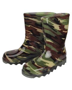 PROCON KIDS ANKLE LENGTH GUMBOOT CAMOUFLAGE