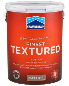 CHAMBER ACRYLIC FINEST TEXTURED QUARRY ROCK 5L