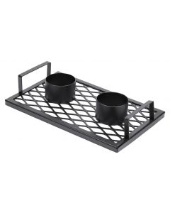 BEERBIRD BRAAI ACCESSORY DOUBLE GRID