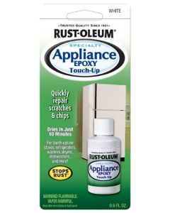 RUST-OLEUM 203000 SPECIALTY APPLIANCE TOUCH UP WHITE 17G