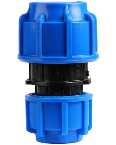 HDPE COMPRESSION COUPLING 40X32MM