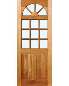 HARDWOOD 13-LGIHT KENTUCKY GLASS 813 DOOR