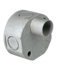 1 Way PVC Spout Box 20mm