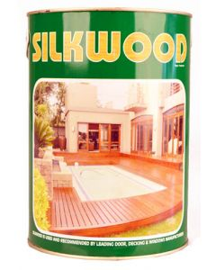 SILKWOOD 1S/WOODKS M5 STAIN KIAAT SEALER 5L