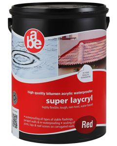 ABE SUPER LAYCRYL  RED 5L