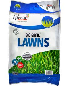 ATLANTIC FERTILIZERS BIO GANIC LAWNS 5KG
