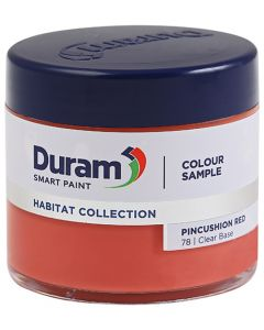 DURAM HABITAT COLLECTION SMART PAINT 90ML ( PINCUSHION RED)