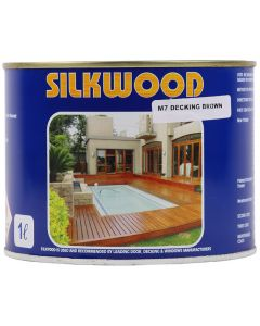 SILKWOOD SEALER M7 BROWN 1L
