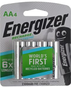 ENERGIZER RECHARGE 2300Mah Aa 4 PACK