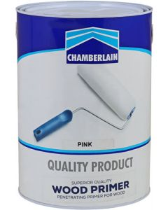 CHAMBERLAIN PINK WOOD PRIMER 5L