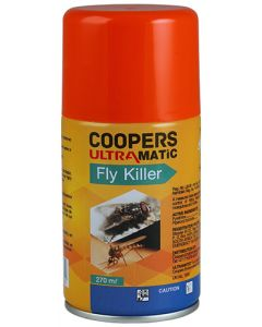 COOPERS 810239 ULTRAMATIC FLY & MOSQUITO KILLER 270ML
