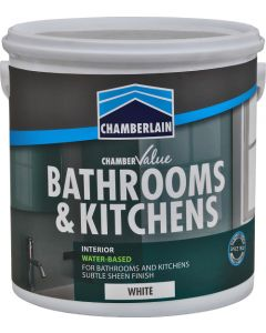 CHAMBERLAIN BATHROOMS & KITCHENS WHITE 2.5L