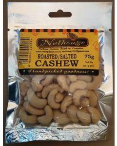 NUTHOUSE ROASTED SALTED CASHEW 75G
