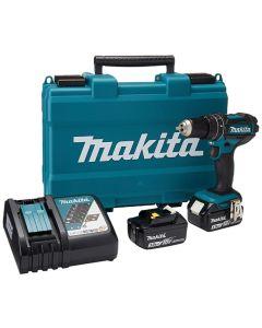 MAKITA DHP482RFE CORDLESS DRIVER DRILL 18V + 2 X BATTERY COMBO