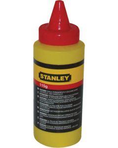 STANLEY CHALK LINE POWDER RED 115g