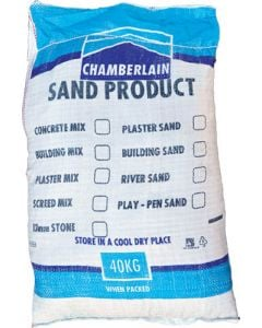 CHAMBERLAIN BAGGED SAND AND MIXES