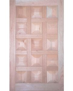 15 PANEL BLOCK MERANTI PIVOT 1200 DOOR