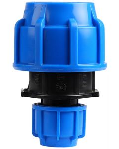 HDPE COMPRESSION COUPLING 50X25MM