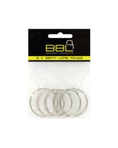 BBL  BBRKR38PP 5X38MM WIRE RINGS