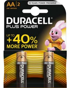 DURACELL DURO12 AA BATTERY PACK OF 2