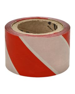 BARRIER TAPE CHEVRON 75MM X 100M