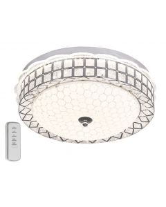 BRIGHT STAR CF164RBG LED 24W COLOUR CHANGING CHROME CEILING LIGHT