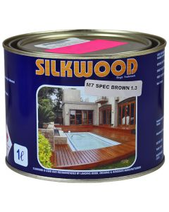 SILKWOOD SEALER M7SPEC BROWN 1L