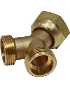 ISM 8205 BRASS Y-JOINT CONNECTOR WASHING MACHINE