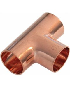 COPPER EQUAL TEE 15MM