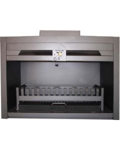AVALON BIFP800 BUILT-IN FIREPLACE 800MM BOXGRATE/ASHPAN/DAMPER