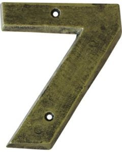 ALESSA ANTIQUE GOLD NUMERAL 7 (200MM)