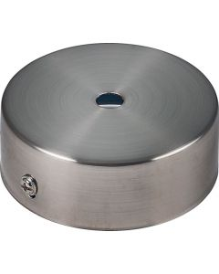 BRIGHT STAR PART026 SATIN CHROME CEILING CUP 80MM