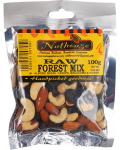 NUTHOUSE FOREST MIX RAW 100G