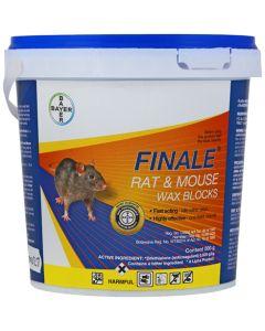 BAYER RODILON/FINALE RAT & MOUSE WAX BLOCKS 500G
