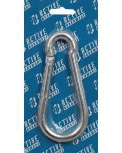 Active Zinc Plated Spring Hook 12mm