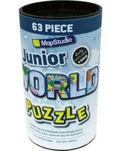 JUNIOR WORLD JIGSAW PUZZLE 2ND EDITION