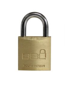 BBL PADLOCK 20MM LUGGAGE 1PACK