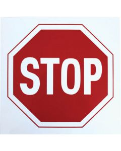 STOP SIGN 290X290MM