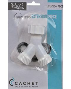 Cachet Y-Piece PVC Tap Adapter